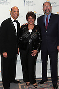 3 March 2011- New York, NY-  l to r: Dr. Michael Lomax, Linda Johnson Rice, Richard Parsons at the UNCF ' A Mind is'  Gala held at the Marriott Marquis Hotel on March 3, 2011 in New York City. Photo Credit: Terrence Jennings
