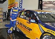 Steven Richards .V8 Supercar Team - FPR Car #6 2010 Dunlop Super Dealers Livery Reveal.Ford Performance Racing Workshop.Campbellfield, Victoria.11th of February 2010 .(C) Joel Strickland Photographics.Use information: This image is intended for Editorial use only (e.g. news or commentary, print or electronic). Any commercial or promotional use requires additional clearance.