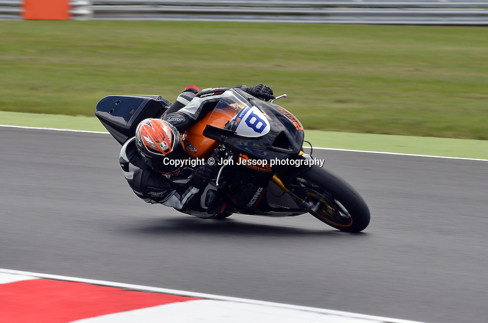#8 Luke Stapleford Profile Racing Triumph British Supersport