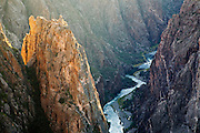 The Gunnison River in Black Canyon of the Gunnison National Park