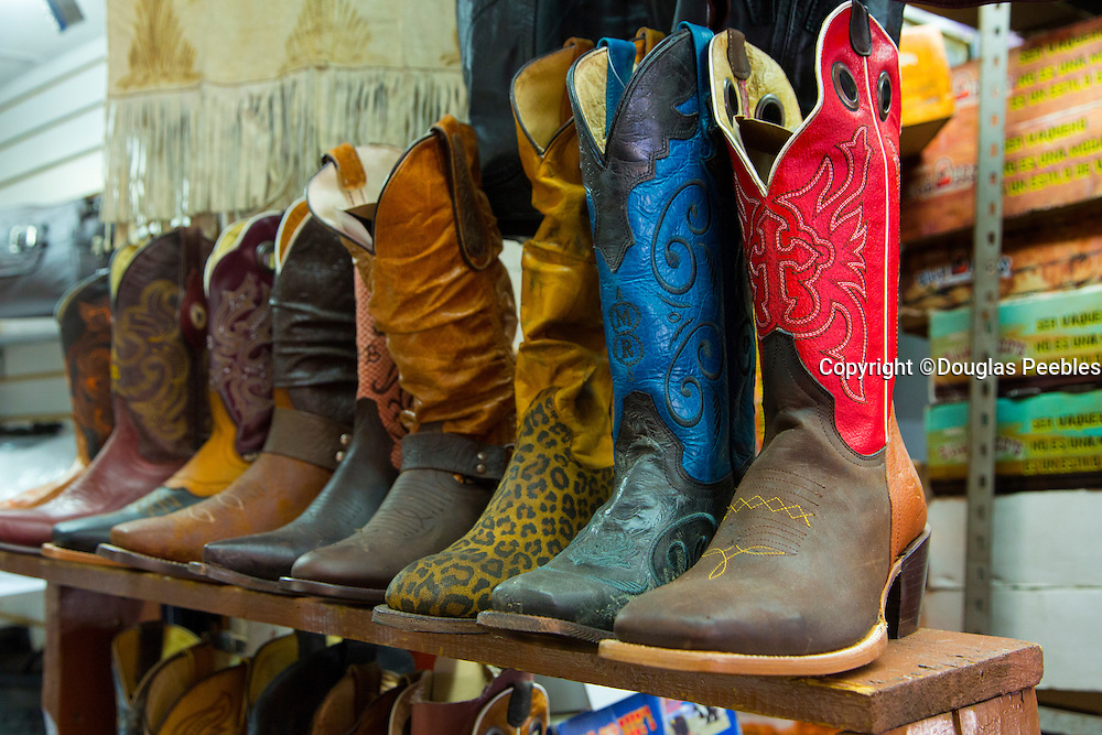 Cowboy boots, San Juan de Dios Market, Guadalajara, Jalisco, Mexico