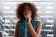 Nneka performing at the 2012 DMX-Pandora SXSW Party