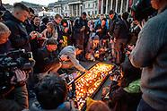 London attack | Trafalgar Square vigil