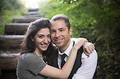 Engagement Photography - Bucks County Covered Bridge - Alexis & Jonathan