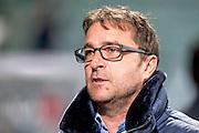 DEN HAAG - ADO Den Haag - Vitesse , Voetbal , Eredivisie , Seizoen 2016/2017 , Kyocera Stadion , 03-02-2017 ,  eindstand 0-2 , ADO Den Haag trainer Ziljko Petrovic