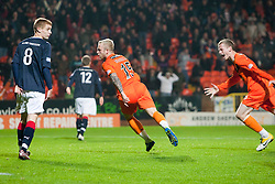 Dundee utdsRussell celebrates scoring their first goal..Half-time. Dundee Utd 1 v 1 Falkirk. Scottish Communities League Cup, 25/10/2011..Pic © Michael Schofield.