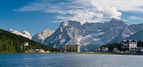 Lake Misurina - Wikipedia