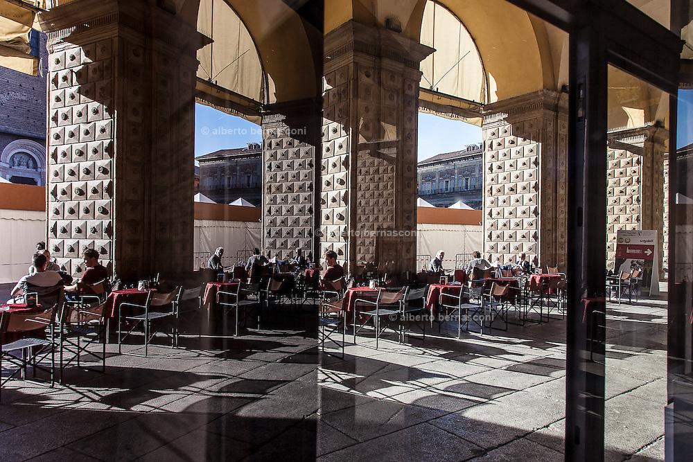 Bologna, Piazza Maggiore caffè Vittorio Emanuele