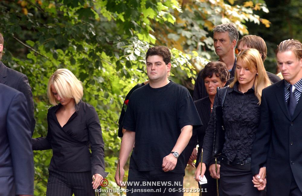 Begrafenis Bertus Luske,