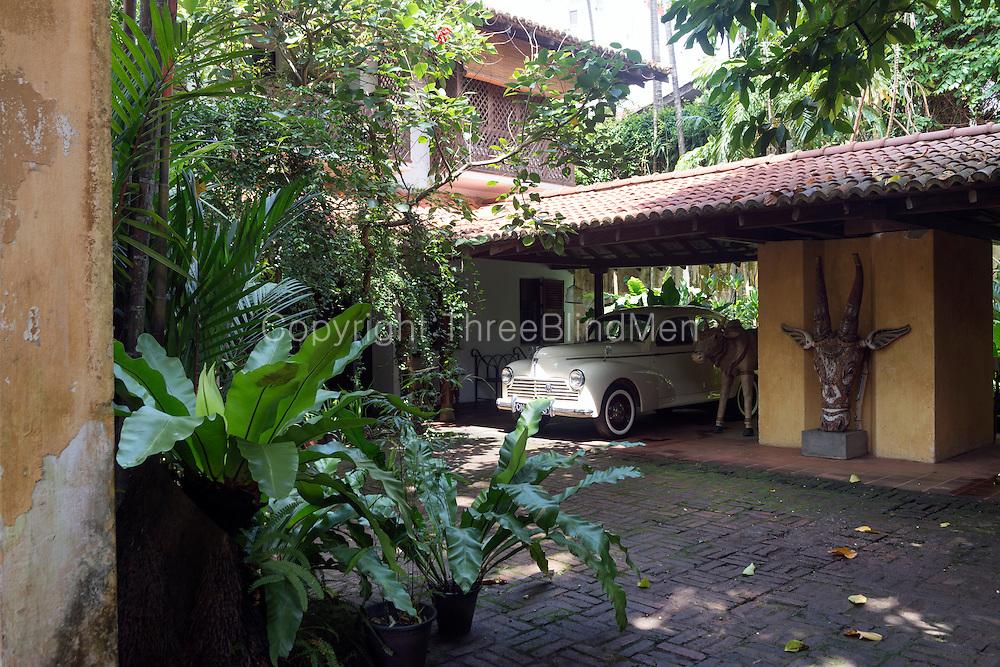 Raffel House, Colombo. Architect Geoffrey Bawa.