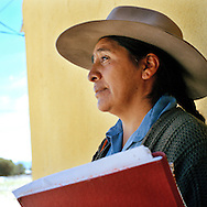 Rosario Quispe. Warmi Sayajsungo is a womens organization based in Argentina that helps women become self-sufficient. Rosario Quispe, who has seven children, and is the wife of an unemployed miner, founded the organization of indigenous Coya in 1995, called Warmi Sayajsungo, which in quechua means Womens PerseveranceÓ. Rosario had an ambitious dream for the Coya people who lived high on the arid plateau where Argentina and Bolivia meet, in the shadow of the Andes. That dream was that one day they would live in dignity on the fruits of their own work. They are taught skills and given micro credits to help their small businesses prosper.Each person photographed has their own story to tell about their life now and how the organization changed their lives for the better.