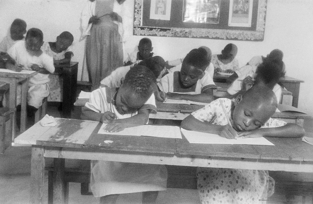 Mission School on Nsambya Hill, Kampala, Uganda, Africa, 1937