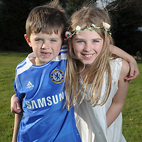 Max and Mia Currie portrait session.<br />