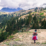 La strada verso Chacas sale oltre i 5000 metri di altitudine attraversando paesaggi mozzafiato Chacas, Ancash, Peru. A group of brave Italian volunteers of the no-profit Italian movement OMG, Operazione Mato Grosso, together with their spiritual leader Father Ugo De Censi, fight against poverty and misery in the villages of the Peruvian Andes since 1967, helping these poor people with their hard work. They gave everything for them, they dedicated their life to them, without never asking anything in return. A great life adventure, based on compassion and love.