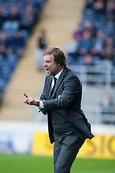 Steven Pressley, Falkirk manager..Half time, Falkirk 1 v 0 Stirling Albion, Ramsdens Cup..© Michael Schofield.