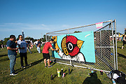 Sentrock at day three of Ruido Fest.