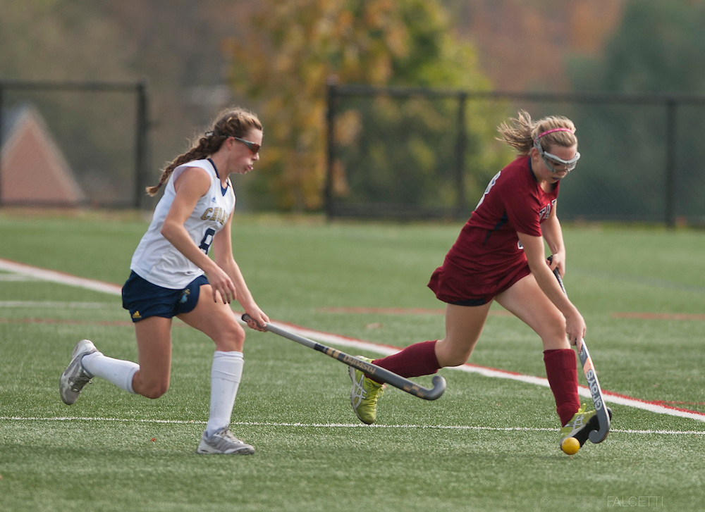 Taft School-October 12, 2013- Girls Varsity Field Hockey v Choate. (Photo by Robert Falcetti Studio)