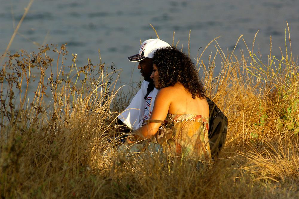 Couple, Santa Cruz, California, United States of America
