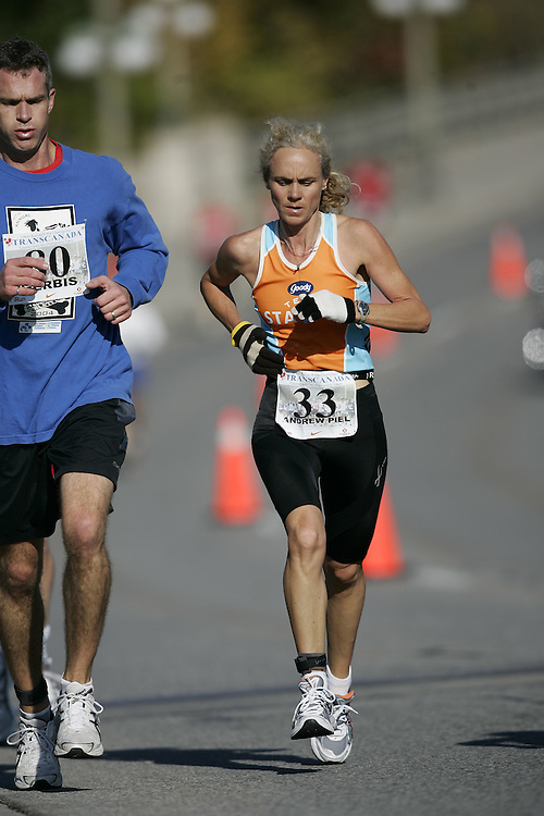 (Ottawa, ON---18 October 2008) JUDY ANDREW PIEL competes in the 2008 TransCanada 10km Canadian Road Race Championships. Photograph copyright Geoff Robins/Mundo Sport Images (www.msievents.com).