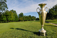 2012 Ohio Amateur trophy at Brookside Golf and Country Club on July 13, 2012.