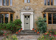 Entrance to Kylsant House, Broadway, Worcestershire