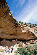 Mesa Verde National Park, Long House Ruin on Weatherill Mesa, excavated 1959 to 1961, Colorado