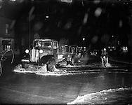 Flooding at North Strand and Drumcondra, Dublin.8-12/12/1954