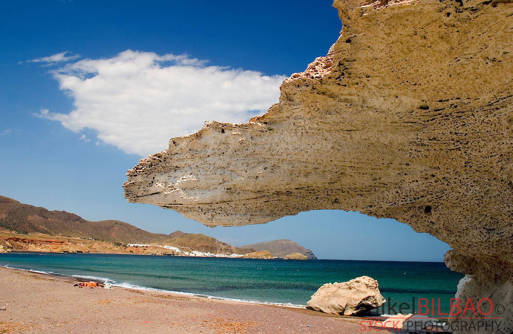 Cabo de Gata Natural Park. Is a desert-like coastal place in Almeria (Andalusia) in the south-east corner of Spain. With a volcanic past is one of the last mediterranean spanish places with a good level of conservation