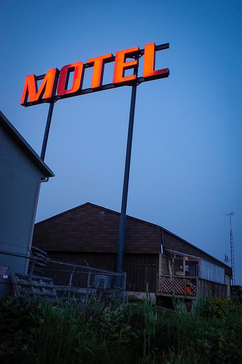 Motel dans le Bas du fleuve, Québec