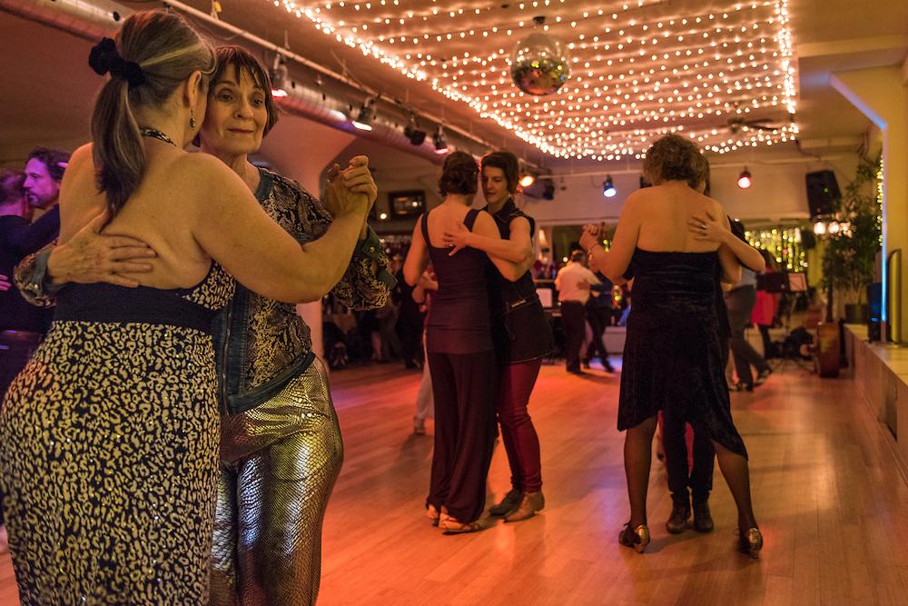 Festival de tango queer au studio tango à Montréal, 2015