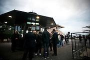 Roma - 07 Novembre 2010.Derby equitazione all' Ippodromo di Capannelle.Botteghino Scommesse.foto:Stefano Meluni