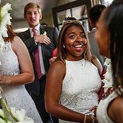 SHOT 6/2/16 11:09:21 AM - Colorado Academy Class of 2016 Commencement ceremonies at the Denver, Co. private school. The school graduated 88 seniors this year and the event capped a week filled with awards, tributes, and celebrations for the outgoing senior class. (Photo by Marc Piscotty / © 2016)