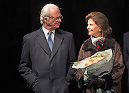 2-12-2014 - PARIS - Queen Silvia and King Carl Gustaf of Sweden during a 3 day state visit to France . COPYRIGHT ROBIN UTRECHT