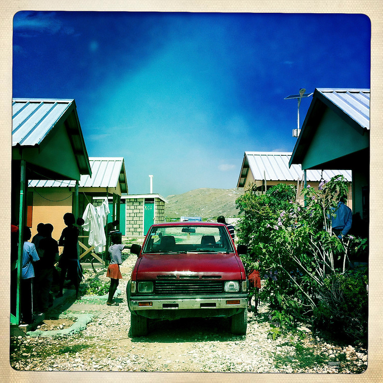 The Corail camp on Thursday, April 5, 2012 in Port-au-Prince, Haiti.