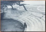 Lionel Wendt Collection.        10.5&quot; x 15&quot;<br /> Keerimalai Hot springs, Jaffna.
