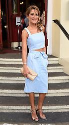 Gemma Oaten attends Puttin' on the Ritz Press Night at New Wimbledon Theatre, The Broadway, London on Thursday 28 May 2015