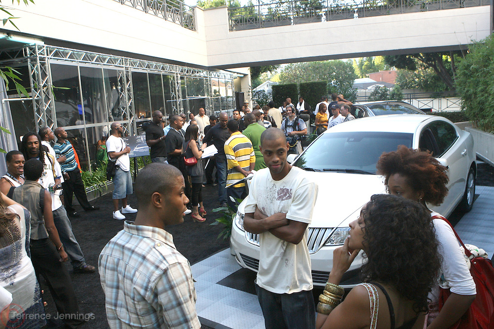 Atmosphere at Lincoln Presents ' Off the Red Carpet ' during the 2008 American Black Film Festival held at the Sofitel Hotel on August 7, 2008
