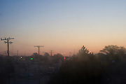 Dawn in the city of Dearborn. Most of the Arab American citizens of Detroit live in Dearborn and the city has the Arab American National Museum (AANM), the first museum in the world devoted to Arab-American history and culture. Detroit, USA
