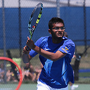 Caesar Rodney Neil Patel in action during a DIAA Tennis State final match Tuesday, May. 26, 2015 at UD Field House in Newark, DEL