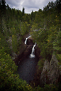 Devil's Kettle waterfall