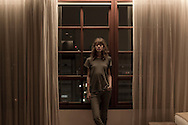 Tuesday,  14/12/2010, Sao Paulo - Brazil: Top model Freja Beha Erichsen as she arrives at her suite in Hotel Fasano, Sao Paulo - Brazil. (photo: Caio Guatelli)