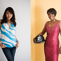 NY1's Michelle Park and Cheryl Wills