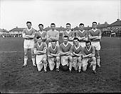 1961 - Cork Hibernians vs Jacobs FAI Cup.