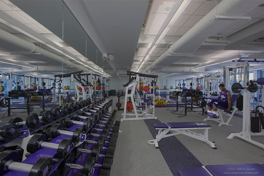 Dc School Architectural Interior Of Gonzaga Weight Training Room Architectural Photo Artistry