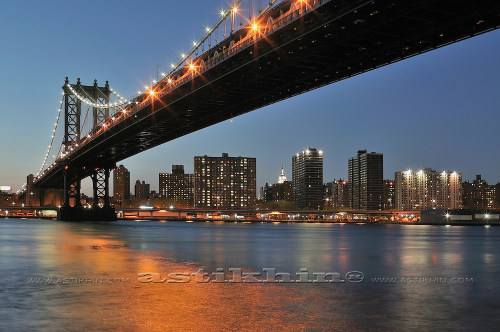 Reflection in East River
