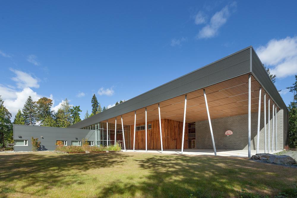 Stz'uminus First Nation Middle School, Chemainus, Vancouver Island   David Nairne Associates 2012