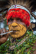 Tribes from the Highlands of Papua New Guinea gather once a year in Goerka to sing dance and make peace. Tribes in the Highlands of Papua New Guinea gather in Goroka for the annual Sing Song Festival.