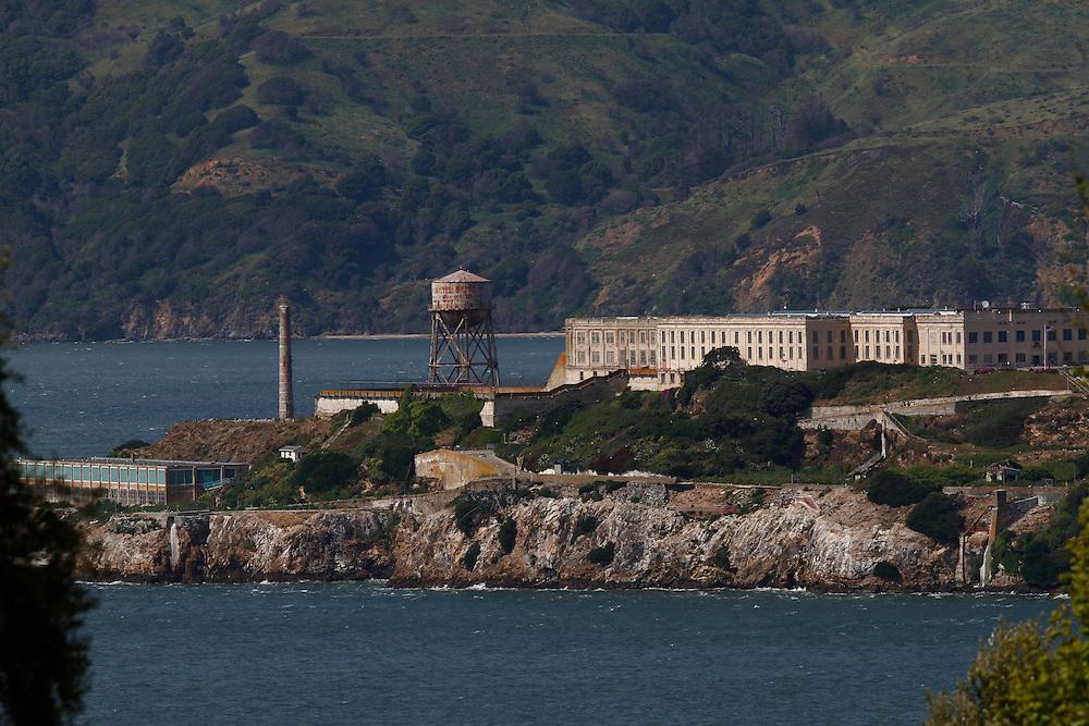 A view of Alcatraz from North Beach in San Francisco.  Mandatory Credit: Dinno Kovic / Dinno Kovic Photography