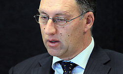 "Ashley Smith giving evidence at the Royal Earthquake Commission inquiry into the collapse of the CTV building, Christchurch, New Zealand, Monday, July 09, 2012. Credit:SNPA / The Press, Kirk Hargreaves  ""POOL"""""