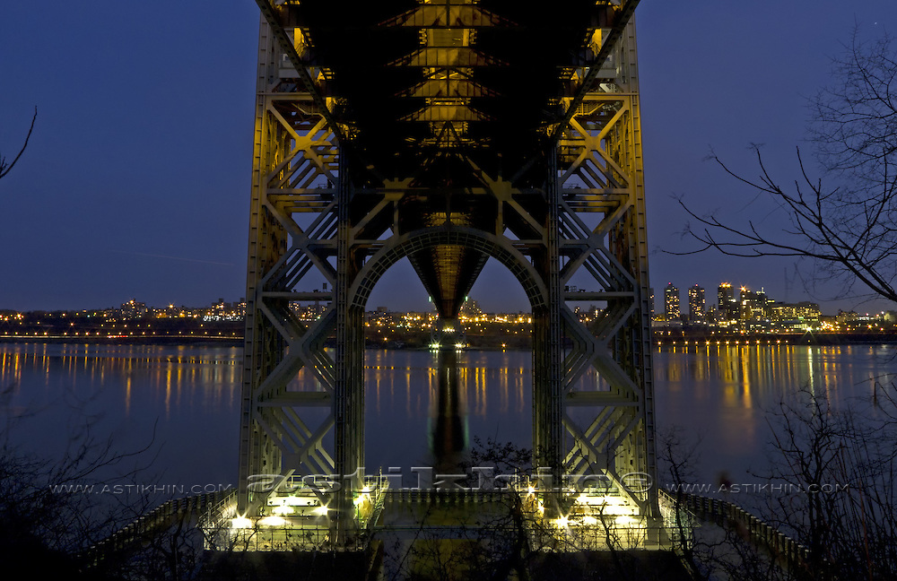 Under GW Bridge.